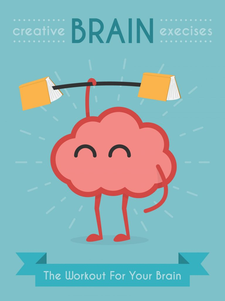 Creative brain exercises - the workout for your brain