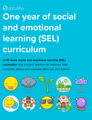 One year of social and emotional learning (SEL) curriculum – cover